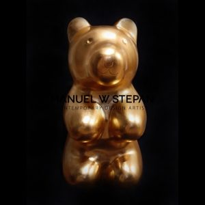 Jelly pool bear gold 24