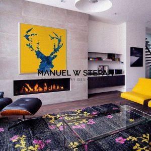 MyDeer evolution.15 Manuel W Stepan Pop Art Vienna