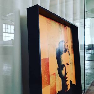 James Dean collage Pop Art Manuel W Stepan