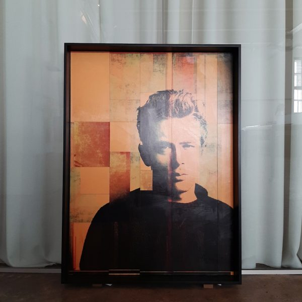 James Deanc ollage Pop Art Manuel W Stepan