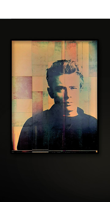 James Dean Manuel W Stepan Art Design Pop Art Wien