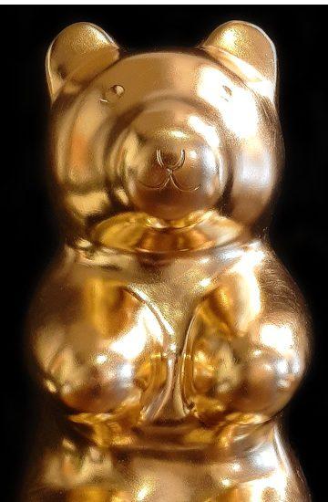 jellybear gold Manuel W Stepan Art Design Pop Art Wien