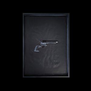 Manuel W Stepan Art Design Pop Art Wien Revolver Black