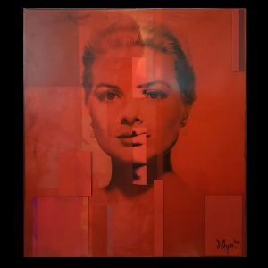 Grace Kelly Kiss Manuel W Stepan Art Design Pop Art Wien